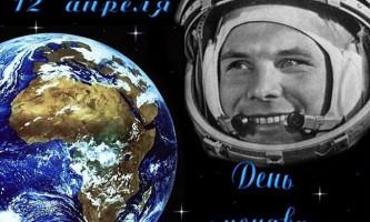 12 Апреля вся країна відзначить день авіації і космонавтики