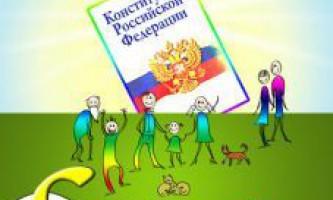 12 Грудня - день конституції російської федерації