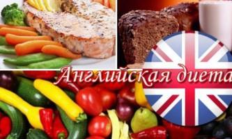 Англійська дієта: меню та відгуки про результати її застосування