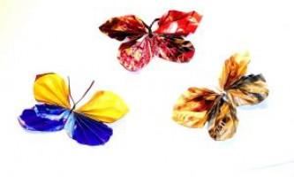 Метелики з паперу. Вироби своїми руками