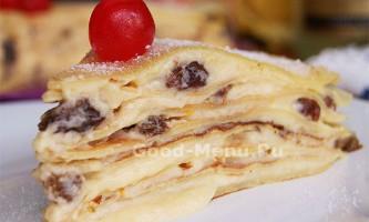 Млинцевий торт крепвіль