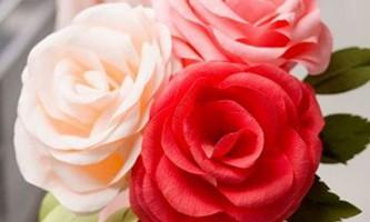 Великі квіти з паперу