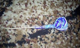 Букет з цукерок «вітрильник»