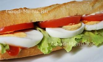 Бутерброди з яйцем