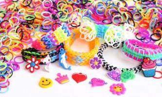 Чотири способи плетіння браслетів з гумок