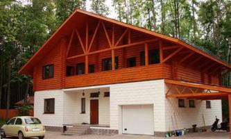 Будівництво комбінованого малоповерхового будинку