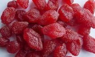 Цукати з полуниці в домашніх умовах. Як зробити? Простий рецепт