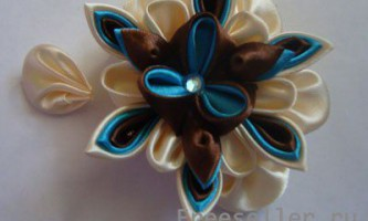 Квіточка для гумки або на брошку