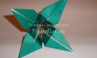 Квітка ірису з паперу