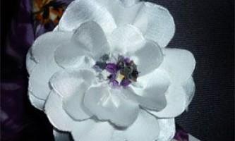 Робимо красиву квітку з джинсової тканини