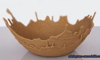 Робимо вазу з піску