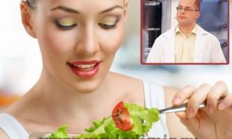 Дієта агапкина для схуднення - безпечна і не складна