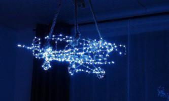 Дизайнерська світлодіодна люстра