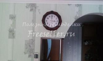 Доопрацювання настінного годинника (автоматичне підсвічування)