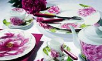 Фарфоровий і фаянсовий посуд