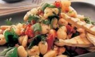 Квасоля в гострому гарбузовому соусі - рецепт приготування