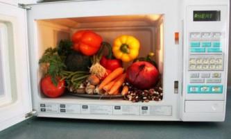 Готуємо тушковані овочі в мікрохвильовці