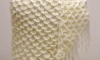 Ідеї для творчості: в`язані шалі гачком (фото)