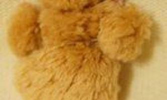 Іграшка з помпоном «дідько»