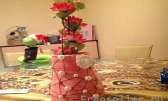 Виготовлення чудо-вази з ниток