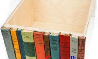 Ящик схованку з книг