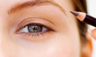 Як фарбувати очі олівцем