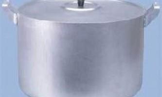 Як очистити алюмінієву каструлю?