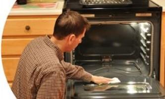 Як відмити духовку?