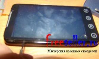 Як поміняти сенсорне скло на мобільному телефоні