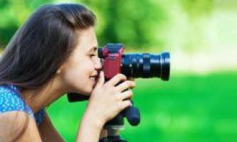 Як правильно фотографувати дзеркальним фотоапаратом?