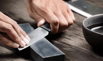 Як правильно точити ножі бруском в домашніх умовах?