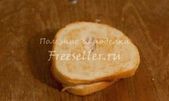 Як приготувати гарячий бутерброд без мікрохвильовки