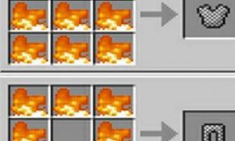 Як зробити броню в minecraft?