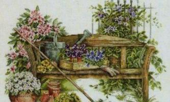 Як зробити садову лавку своїми руками