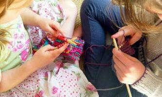Як зробити спиці для маленьких дітей