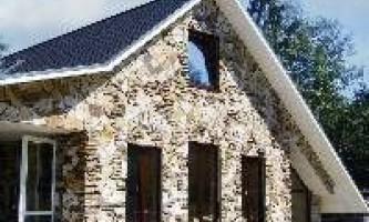 Як поєднувати металопластикові вікна з кам`яної обробкою фасаду будинку?