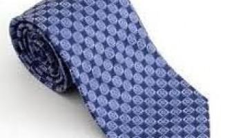 Як прати краватку