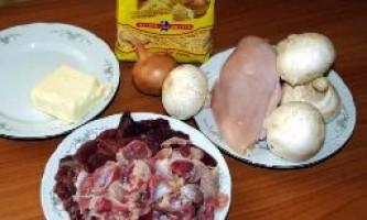 Як зварити суп з курячих потрошки
