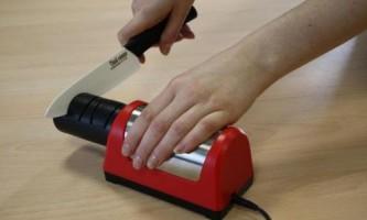 Як точити керамічні ножі