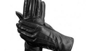 Як вибрати чоловічі рукавички