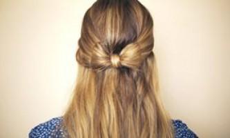 Як заплести бант з волосся своїми руками: покрокова фото інструкція