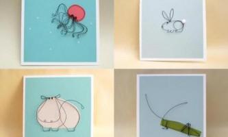 Картини з дроту