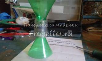 Котушка для намотування стрічки з пластикових пляшок
