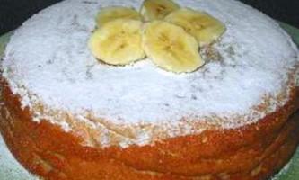 Кекс з бананами в мультиварці