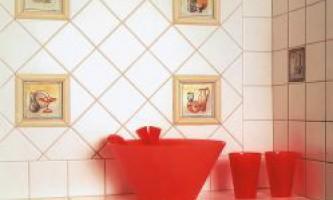 Керамічна плитка. Як облицювати стіни кахлем