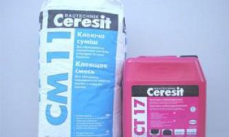 Клей для плитки ceresit см11