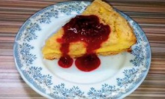 Королівська ватрушка - рецепт приготування