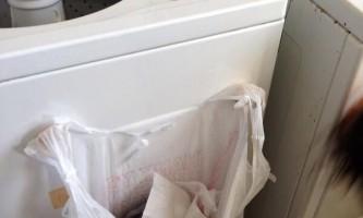 Кухонний пакет з смітником на 2 магнітах