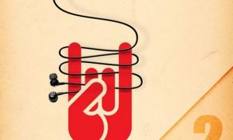 Лайфхак для зберігання навушників від заплутування # 2