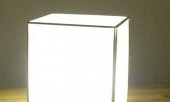 Лампа своїми руками в японському стилі